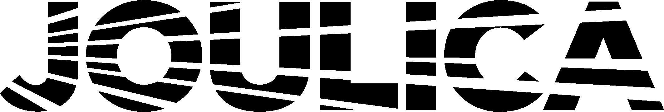 Joulica logo CMYK BLK